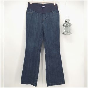 6611d2ee6 GAP. Gap Maternity Flare Jeans w Under Belly Waistband